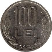 100 Lei -  reverse