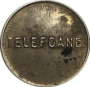 Telephone Token - Telefoane Control (24 mm; small letters) – obverse