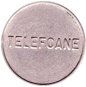Telephone Token - Telefoane Control (27 mm; small letters) – obverse
