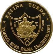 Golden World Coin - Salina Turda – reverse