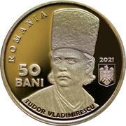50 Bani (200 years since the Revolution of 1821 led by Tudor Vladimirescu) -  obverse