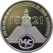 50 Bani (200 years since the Revolution of 1821 led by Tudor Vladimirescu) -  reverse