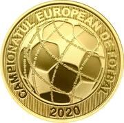 50 Bani (2020 European Football Championship) -  reverse