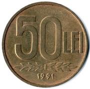 50 Lei -  reverse