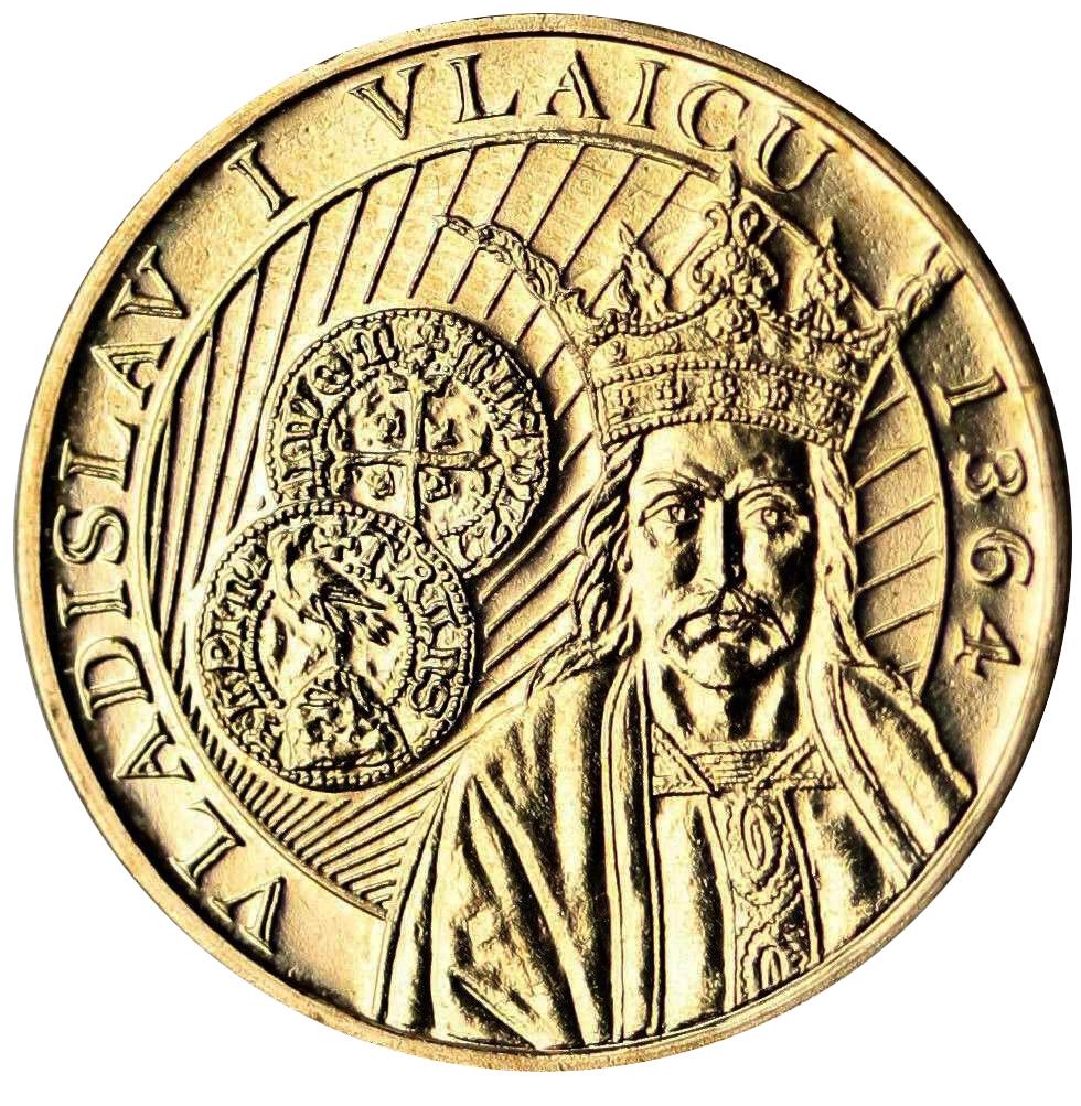 50 Bani Vladislav I Vlaicu Romania Numista