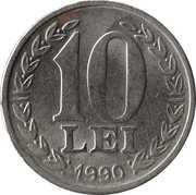 10 Lei (Revolution Anniversary) -  reverse