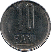 10 Bani (Eagle without crown) -  reverse