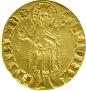 Florin - Pierre IV (Perpignan) – obverse