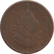 1 Penny (Staffordshire - Commerce) – obverse