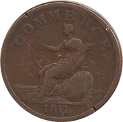 1 Penny (Staffordshire - Commerce) – reverse