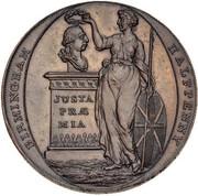 ½ Penny (Warwickshire - Birmingham / Clarke's) – obverse