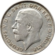 1 Florin - George V (2nd issue) -  obverse