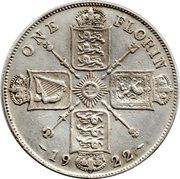 1 Florin - George V (2nd issue) -  reverse