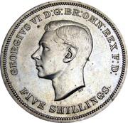 5 Shillings - George VI (Festival of Britain) -  obverse