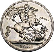 5 Shillings - George VI (Festival of Britain) -  reverse