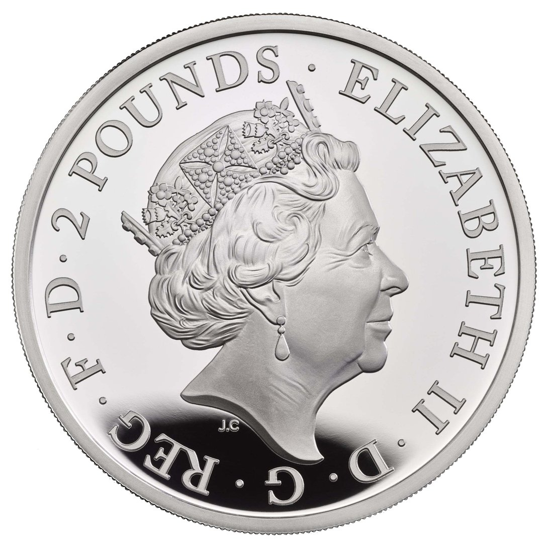 LOVELYCOIN AND CASE Details about  /2013 1 oz silver **Gunner Ship Queen Elizabeth **
