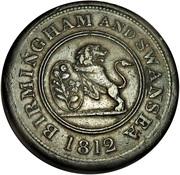 1 Penny (Birmingham & Swansea - Rose Copper Co.) – obverse