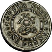 1 Penny (Birmingham & Swansea - Rose Copper Co.) – reverse