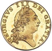 1 Guinea - George III (5th portrait; 'Spade' Guinea) -  obverse