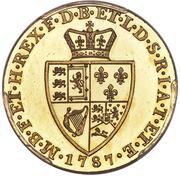 1 Guinea - George III (5th portrait; 'Spade' Guinea) -  reverse