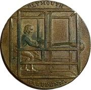 ½ Penny (Devon - Plymouth / Shepheard & Co) – reverse