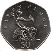50 Pence - Elizabeth II (2nd portrait) -  reverse