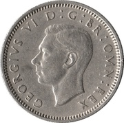6 Pence - George VI (3rd coinage) -  obverse