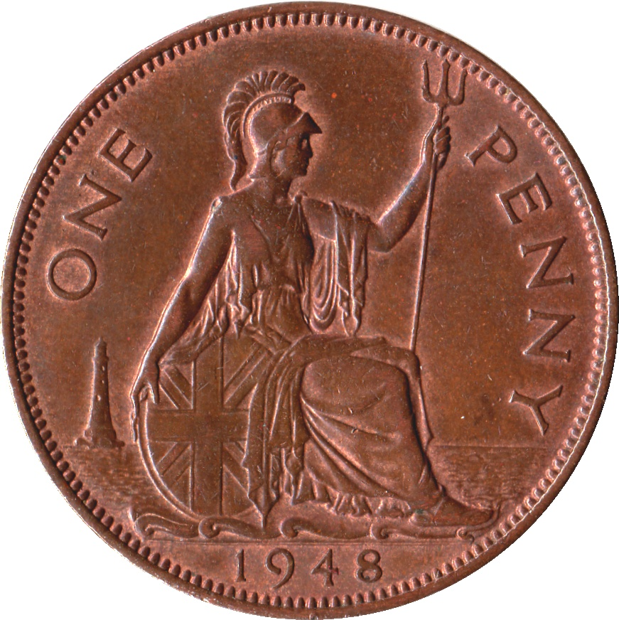 1 penny george vi with 39 ind imp 39 united kingdom for One penny homes