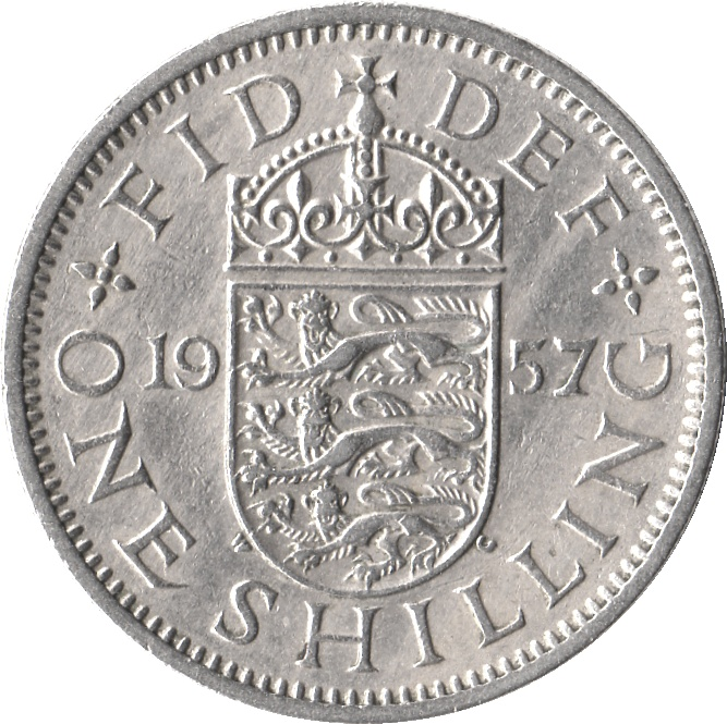 1955 Five Shilling Coin Value http://en.numista.com/catalogue/pieces882.html