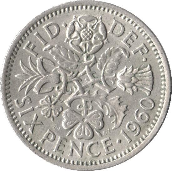 "Pence - Elizabeth II (1st portrait; without ""BRITT:OMN"") - United ..."