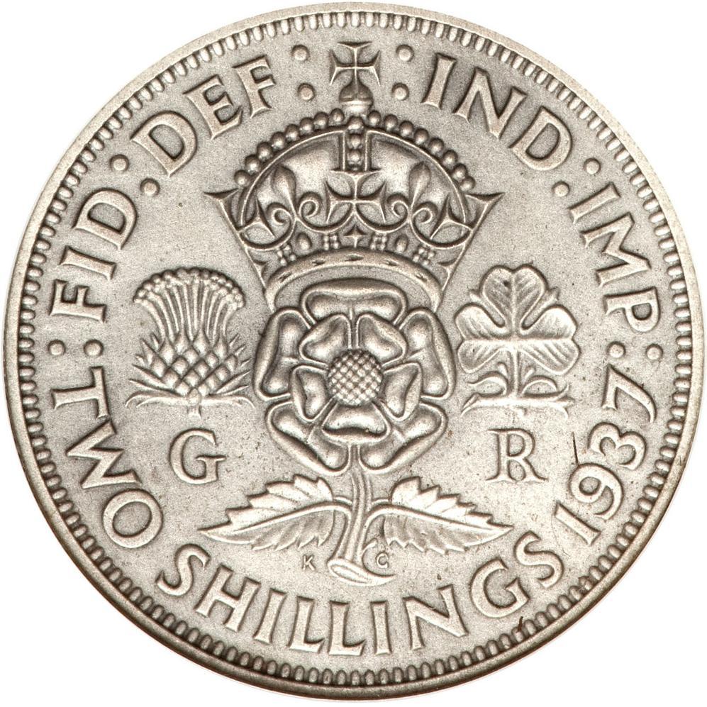 Cyprus Banknote 5 Shillings 1942 P22 British Rule King George VF Original Rare