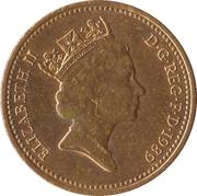1 Penny - Elizabeth II (3rd portrait; non-magnetic) -  obverse