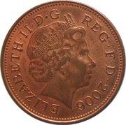 2 Pence - Elizabeth II (4th portrait; magnetic) -  obverse