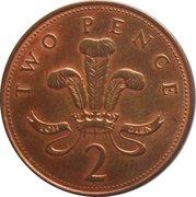 2 Pence - Elizabeth II (4th portrait; magnetic) -  reverse