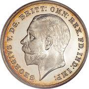 1 Crown - George V (Silver Jubilee) -  obverse