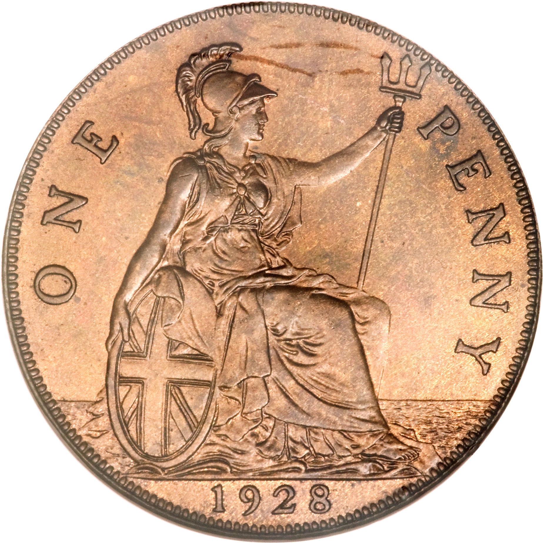 1 Penny - George V (smaller portrait) - United Kingdom – Numista