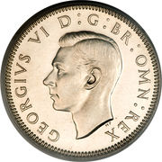 1 Shilling - George VI (English crest; with 'IND:IMP') -  obverse