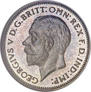 6 Pence - George V (4th coinage) -  obverse