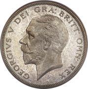 ½ Crown - George V (4th type) -  obverse