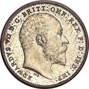 3 Pence - Edward VII (incl. Maundy) -  obverse