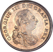 1 Dollar - George III (Bank of England Token) – obverse
