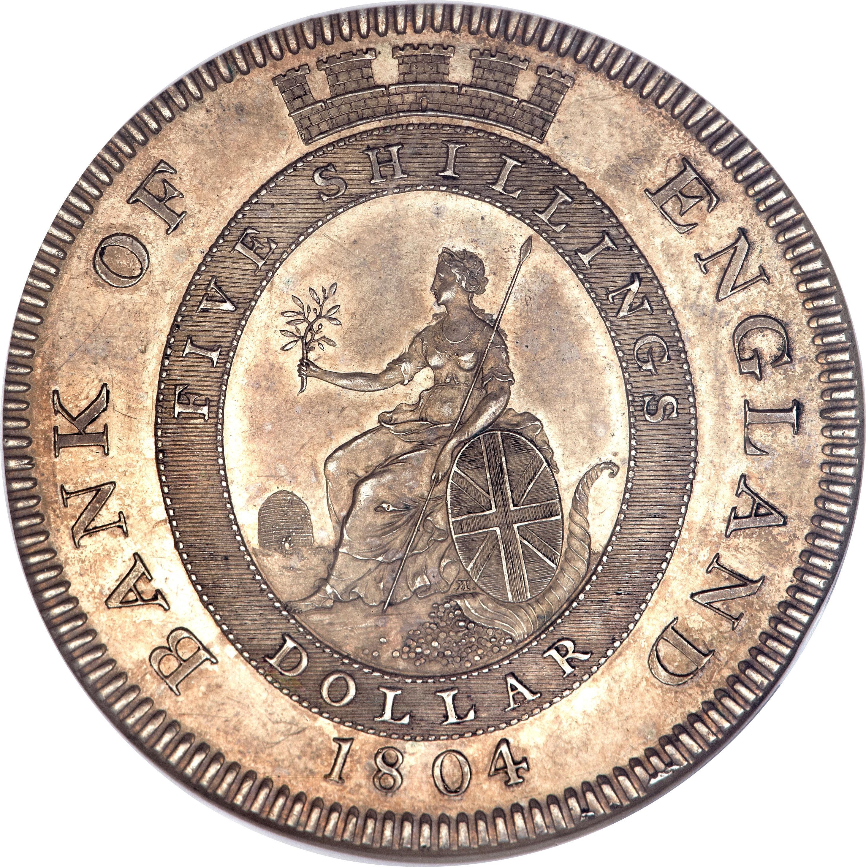 1 Dollar George Iii Bank Of England Token United