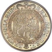 ½ Crown - George III (2nd portrait) -  reverse