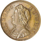 1 Farthing - George II (young bust) – obverse