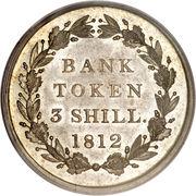 3 Shillings - George III (Bank of England Token) – reverse