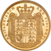 2 Pounds - George IV (Shield reverse) -  reverse
