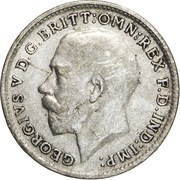 3 Pence - George V (2nd issue; incl. Maundy) -  obverse