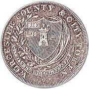 1 Shilling (Worcester - To Facilitate Trade) – obverse
