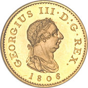 1 Farthing - George III (4th issue; Proof) – obverse