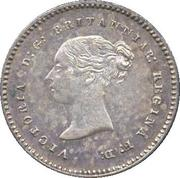 2 Pence - Victoria (1st portrait; Colonial and Maundy issues) -  obverse